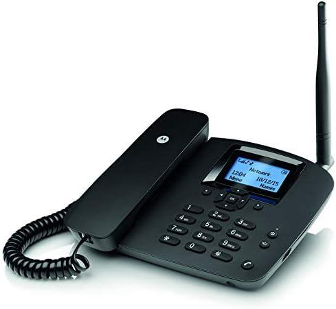Motorola MOTOFW200L - Teléfono Fijo inalámbrico, Negro: Motorola: Amazon.es: Electrónica