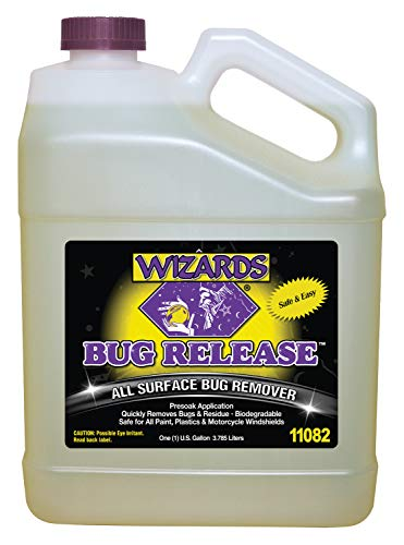 Wizards Bug Release_ Car Wash Presoak Bug Removal Surface Cleaner for Car Care (Best Car Wash Presoak)
