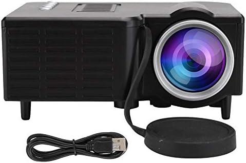 ASHATA Proyector de TV HD, proyector portátil en Miniatura LED ...