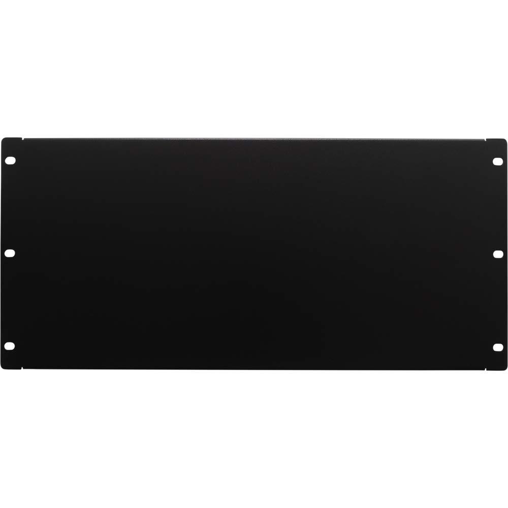 NavePoint 5U Blank Rack Mount Panel Spacer For 19-Inch Server Network Rack Enclosure Or Cabinet Black