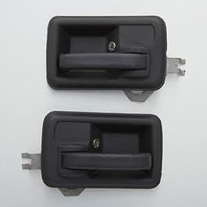 suzuki samurai sj410 sj413 pair interior inner inside door handle left right automotive. Black Bedroom Furniture Sets. Home Design Ideas