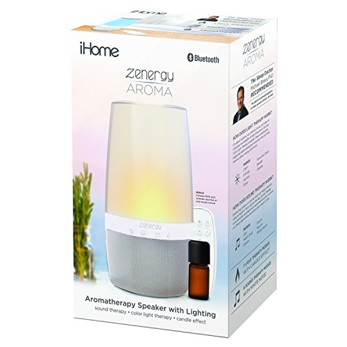 iHome Bluetooth Speaker Sound Open Therapy, Sound Therapy, Changing, Relax Therapy Aroma Oils !