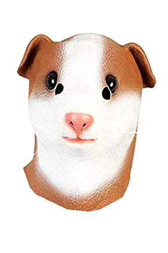 HAOCOS Halloween Adult Animal Full Face Latex Masks Cosplay Props]()