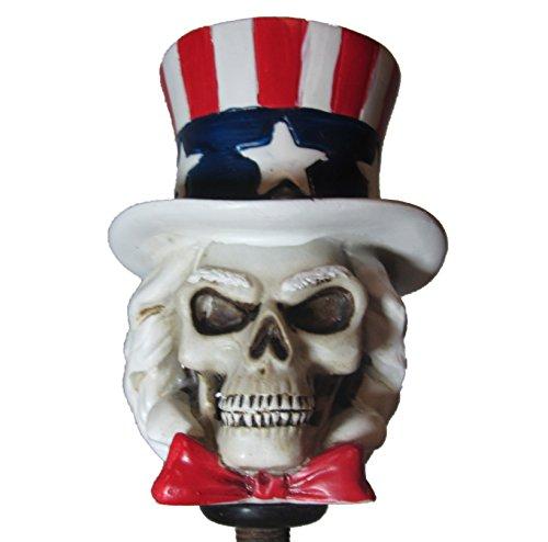 (Patriotic Uncle Sam Shift Knob Hot Rod Auto Gear Shifter USA )