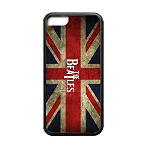 [Perfect-Fit] iPhone 5c Case, [Beatles] iPhone 5c Case Custom Durable Case Cover for iPhone5c Hard case (Laser Technology)