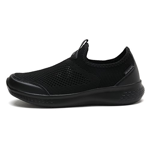 DREAM PAIRS Women's C0189_W All Black Fashion Running Shoes Sneakers Size 8 M US by DREAM PAIRS (Image #1)