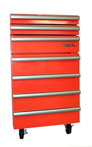 Versonel VSL18RTC3R Portable Garage Toolbox Refrigerator,...