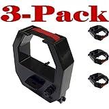 3-Pack Ribbon Cartridge fits Acroprint ATR480, Lathem 400E Time Clocks