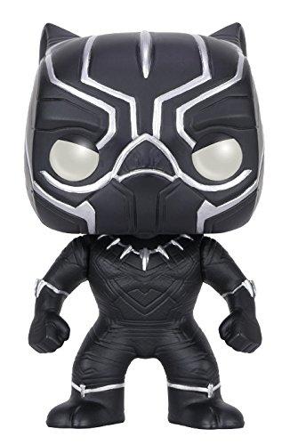 Funko POP Marvel: Captain America 3: Civil War Action Figure - Black Panther by FunKo