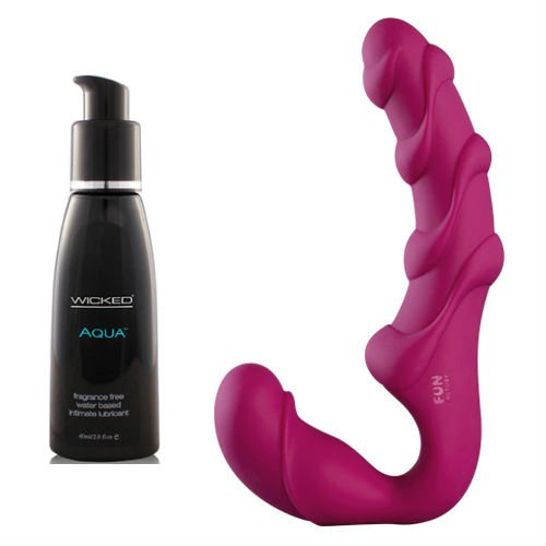 Fun Factory Share XL Berry with Wicked Lube