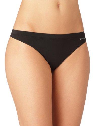 Calvin Klein underwear CALVIN KLEIN BLACK - thong - Ropa interior para mujer Negro (BLACK 001)