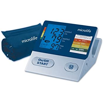 Microlife 3MC1-PC Ultimate Automatic Blood Pressure Monitor with Irregular Heartbeat Detection
