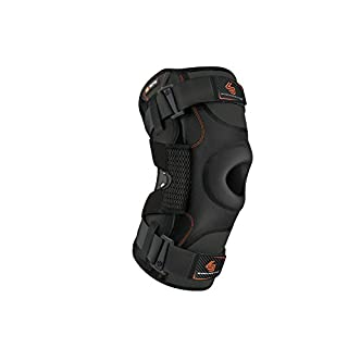 Hinged Knee Brace: Shock Doctor Maximum Support Compression Knee Brace - For ACL/PCL Injuries, Patella Support, Sprains, Hypertension and More for Men and Women - (1 Knee Brace, Large)