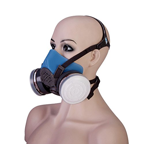 Joyutoy 3600 Series Half Facepiece Reusable Respirator Industrial Gas Chemical Anti-Dust Paint and Pesticide Respirator Mask with Adjustable Straps by Joyutoy (Image #1)