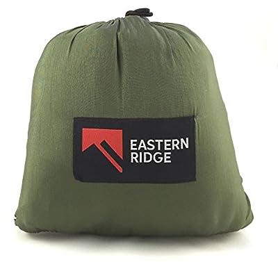 Eastern Ridge Bug Free UltraLight Portable Durable Parachute Camping Hammock Set With Hanging Line