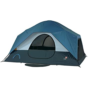 Swiss Gear Falera Family Dome Tent (Blue/Grey)  sc 1 st  Amazon.com & Amazon.com : SwissGear 8 Person Two Room Breeze Tent : Family ...