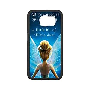 samsung galaxy s6 Case, clochette et le secret des f¨¦es Cell phone case Black for samsung galaxy s6 - SDFG8754161