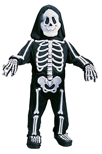 Scary Baby Costumes (Fun World Costumes Baby Boy's Totally Skelebones, Black/White, Small)