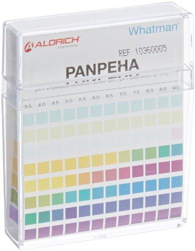 - GE Whatman 10360005 Universal Indicator Test Paper, Strips, 0 to 14 pH Range (Pack of 200)