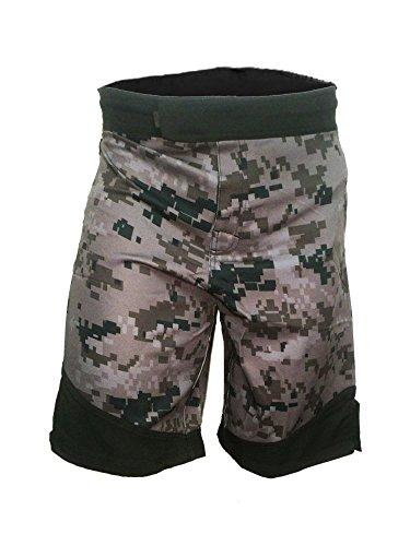 Epic MMA Gear WOD Shorts For Men Agility 3.0 (32, Digital Camo)