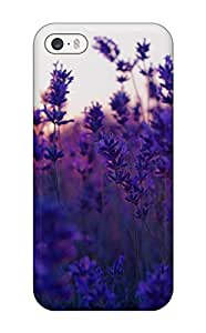 High Quality Lavender Field Case For Iphone 5/5s / Perfect Case