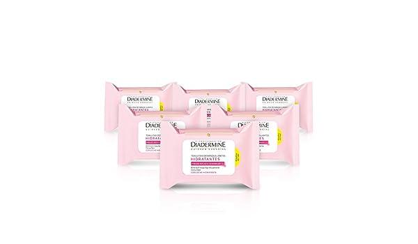 Diadermine - Toallitas Desmaquillantes Hidratantes (pack de 6): Amazon.es: Belleza