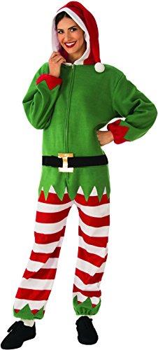 Rubie's Women's Standard Elf Costume Jumper, As Shown, Large ()