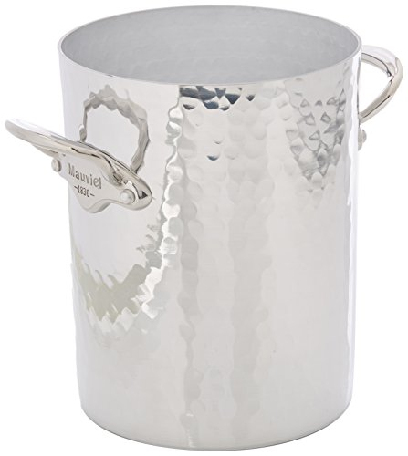 Mauviel Made In France M'30 1604.20 Hammered Aluminum Wine Bucket by Mauviel