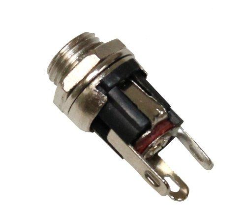 AERZETIX 5 x Conectores chasis para Jack de alimentaci/ón 2.1//5.5mm C2829
