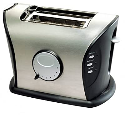 Frigidaire FD3111 2-Slice Stainless Steel Wide Slot Toaster, 220 Volts from Butterflyindia
