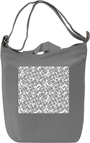 Texture Pattern Full Print Borsa Giornaliera Canvas Canvas Day Bag| 100% Premium Cotton Canvas| DTG Printing|