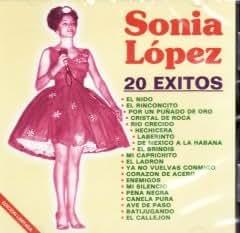 """Sonia Lopez """" 20 Exitos"""" 100 Anos De Musica"""