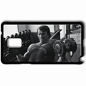 Personalized Samsung Note 4 Cell phone Case/Cover Skin Arnold Schwarzenegger Black