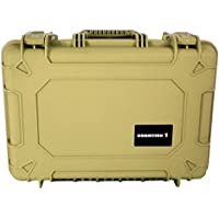 Condition 1 #801 Tan Airtight/Watertight Protective Case with Pick N Pluck Foam