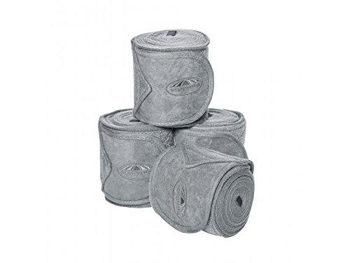Weatherbeeta Fleece Bandage 4 Pack Grey 3.5M