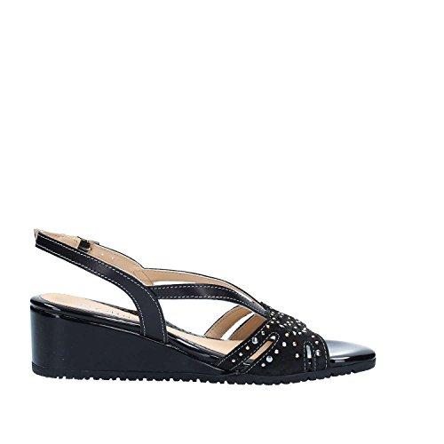 Melluso K95036 Sandals Women Black eMZPLv7v