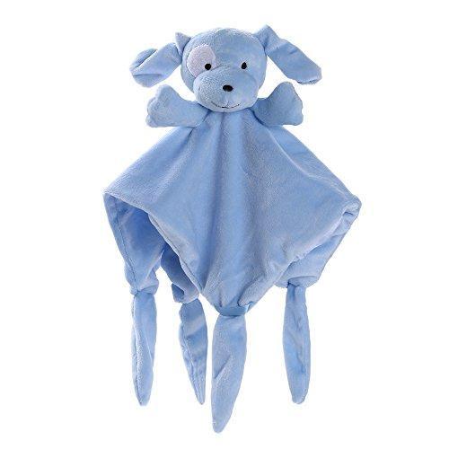 Newborn Soft Baby Teddy Bear Puppet Toy Gift Snuggle Baby Comforter Blanket SB