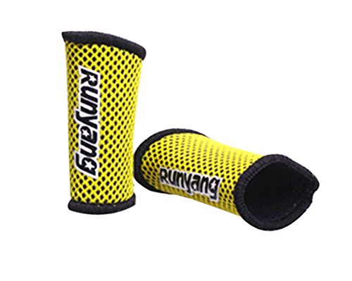Preferhouse Basketall Finger Sleeve Support Sports Finger Protect Wear Nylon Mesh 2 Pcs