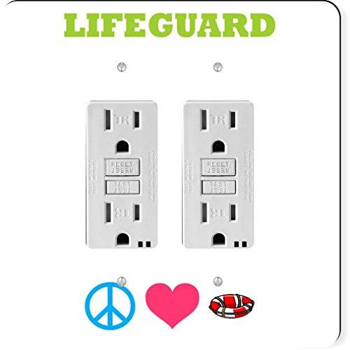 rikki-knight-41561-gfidouble-peace-love-comedian-design-light-switch-plate