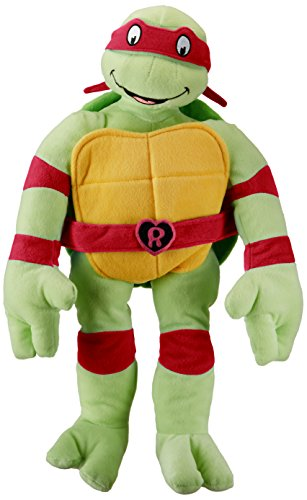 Jay Franco Nickelodeon Teenage Mutant Ninja Turtles I Love TMNT Throw Pillow, Raphael]()