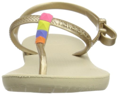 Havaianas Freedom, sandales fille Sable gris