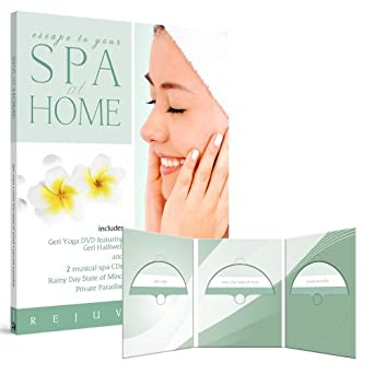 Amazon.com: Spa at Home: Geri Yoga with 2 CDs: Rainy Day ...