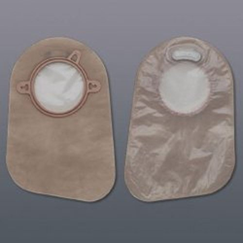 HOLLISTER Filtered Ostomy Pouch New Image 1 3/4'' Two-Piece System 9'' Length Closed End (#18362, Sold Per Box)