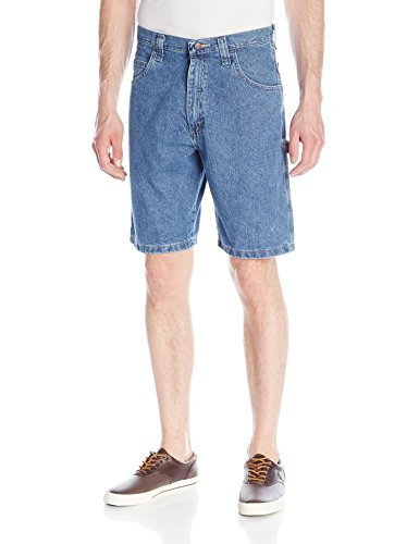 Wrangler Men's Authentics Men's Classic Denim Carpenter Short, Antique Stonewash, 36