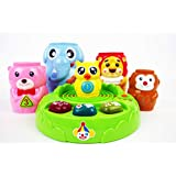 NBD Animals Circus Stacking Toys with Lights, Sound and Music Perfect Baby Electronic Learning Toys