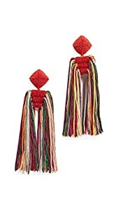 Sachin & Babi Women's Dupio Tassel Earrings, Multi, One Size
