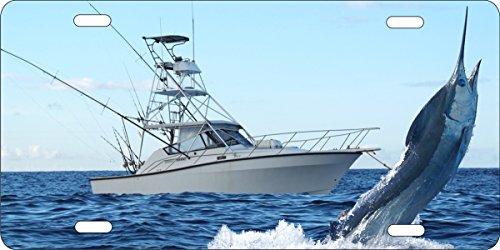 ATD Design LLC Novelty license plate Blue Marlin deep sea - Plate Marlin
