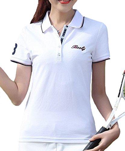 Heaven Days(ヘブンデイズ)ポロシャツ ゴルフシャツ Tシャツ 半袖 レディース 1805F0001