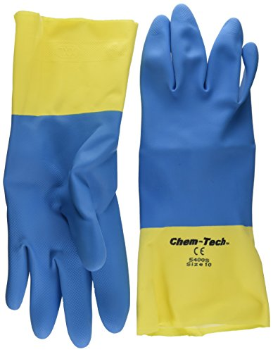 MCR Safety 5400S 10-1 2-Inch Chem-Tech Seamless Nitrile Rubber 25363a43d1
