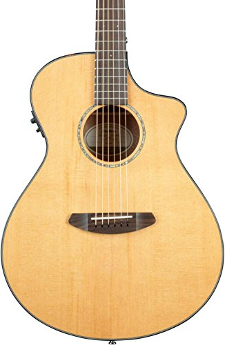 - Breedlove Pursuit Concert Acoustic-Electric Guitar Level 1 Natural